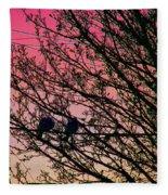 Sunset Lovers Fleece Blanket