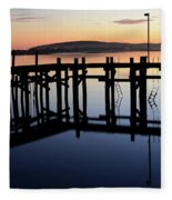 Sunset Magic Bodega Bay California Fleece Blanket