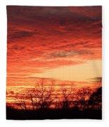 Sunset Magic Fleece Blanket