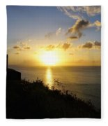 Sunset Monument Fleece Blanket