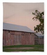 Sunset Of My Years Fleece Blanket