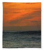 Sunset Ohau Fleece Blanket