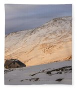 Sunset Over Lakes Of The Clouds Fleece Blanket