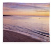 Sunset Paddle Fleece Blanket