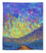 Sunset Path Fleece Blanket