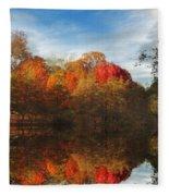 Sunset Reflections Fleece Blanket