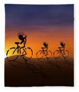 Sunset Riders Fleece Blanket