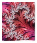 Sunset Romance Abstract Fleece Blanket