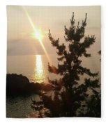 Sunset Scenic Fleece Blanket