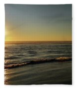 Sunset Serenity Fleece Blanket