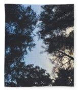 Sunset Shadows Fleece Blanket