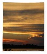Sunset Shelbyville Fleece Blanket
