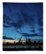 Sunset St. Louis IIi Fleece Blanket