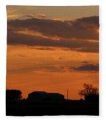 Sunset Strip Fleece Blanket
