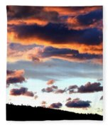 Sunset Supreme Fleece Blanket