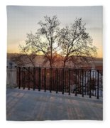 Sunset View  Fleece Blanket