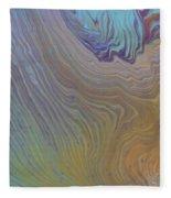 Sunset Wood Fleece Blanket