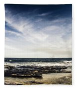 Sunshine Coast Landscape Fleece Blanket