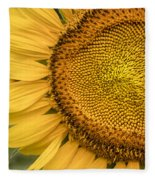 Sunshine Flower Fleece Blanket