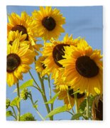 Sunshine Happy Fleece Blanket