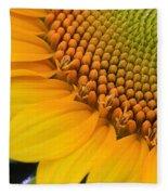 Sunshine In A Flower Fleece Blanket
