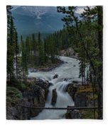 Sunwapta Falls Fleece Blanket