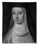 Suor Maria Celeste, Galileos Daughter Fleece Blanket