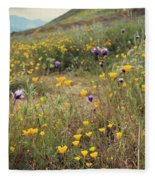 Super Bloom Fleece Blanket