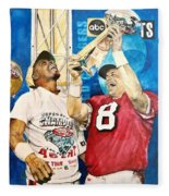 Super Bowl Legends Fleece Blanket