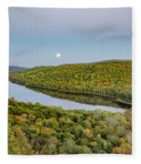Super Moon Rise Sept. 27, 2015 Fleece Blanket