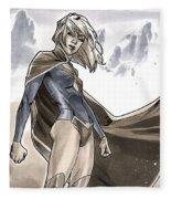 Supergirl Fleece Blanket