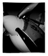 Supermarine Spitfire Mk.ix Fleece Blanket