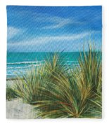 Surf Beach Fleece Blanket
