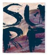Surf V1 Fleece Blanket