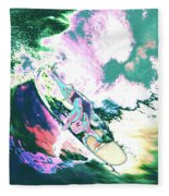 Surfer 2 Fleece Blanket