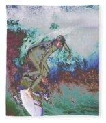 Surfer 3 Fleece Blanket
