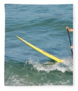 Surfer Dude Fleece Blanket