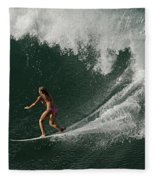 Surfing Hawaii 2 Fleece Blanket
