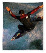 Surfing Fleece Blanket