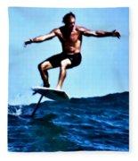 Surfing Legends 5 Fleece Blanket