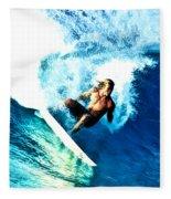 Surfing Legends 9 Fleece Blanket