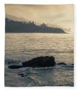 Leo Carrillo Beach Fleece Blanket