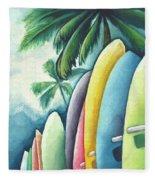 Surf's Up Fleece Blanket