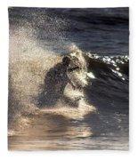 Surfs Up In Socal Fleece Blanket