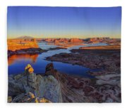 Surreal Alstrom Fleece Blanket