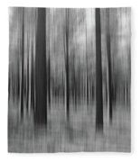 Surreal Forest Abstract. Fleece Blanket