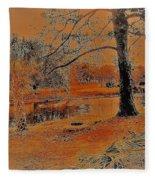 Surreal Langan Park 2 - Mobile Alabama Fleece Blanket