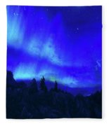 Surreal Nights Fleece Blanket