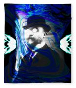 Surreal Satie, The Velvet Gentlemen Fleece Blanket