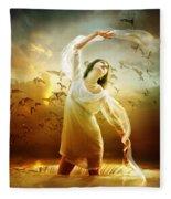 Surrender Fleece Blanket